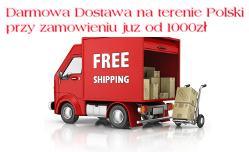 Darmowa dostawa na terenie Polski przy zamówieniu już od 1000zł